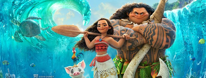 Disney's Moana - Moana and Maui